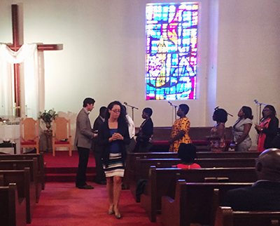 Immigrants from Ghana Set to Worship at Disciples UMC