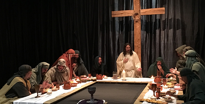 Seeing is Believing: The Living Last Supper